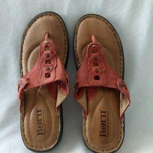 Born Sandals Size 7